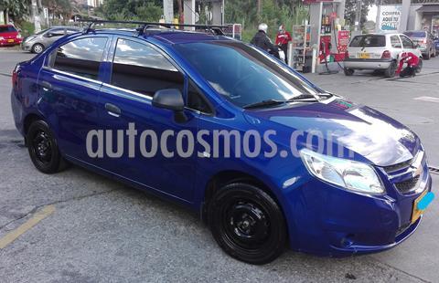 Chevrolet Sail LS  usado (2014) color Azul precio $22.500.000