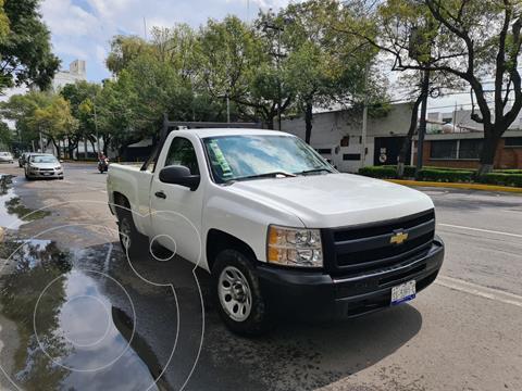 Chevrolet Silverado 1500 Cab Reg WT Aa  usado (2011) color Blanco precio $180,000