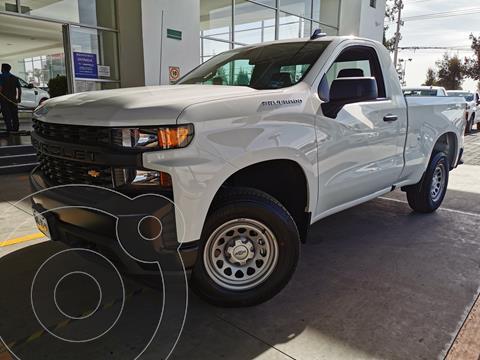 Chevrolet Silverado 1500 Cab Reg Paq A usado (2021) color Blanco precio $615,000
