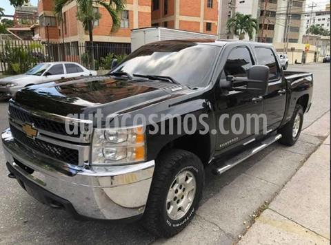 Chevrolet Silverado 4x4 Doble Cabina LS usado (2012) color Negro precio $400,000