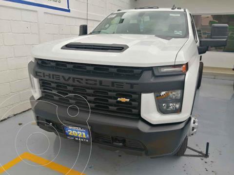 Chevrolet Silverado 3500 Chasis Cabina Paq A nuevo color Blanco precio $756,900