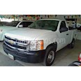 Foto venta carro Usado Chevrolet Silverado LS 5.3L Cabina Simple 4x2 (2011) color Blanco