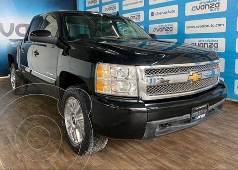Chevrolet Silverado 4x4 Doble Cabina Paq F usado (2013) color Negro financiado en mensualidades(enganche $177,390 mensualidades desde $8,869)