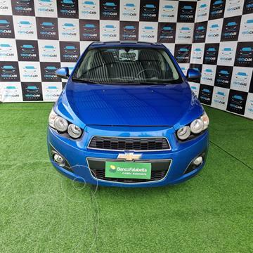 Chevrolet Sonic Hatchback 1.6 LT  usado (2012) color Azul precio $6.790.000