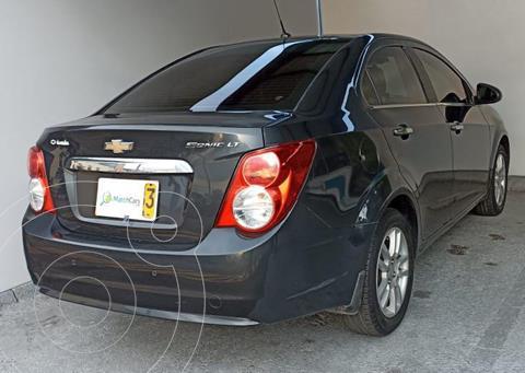 Chevrolet Sonic Hatchback  1.6 LT Aut  usado (2016) color Gris precio $34.700.000