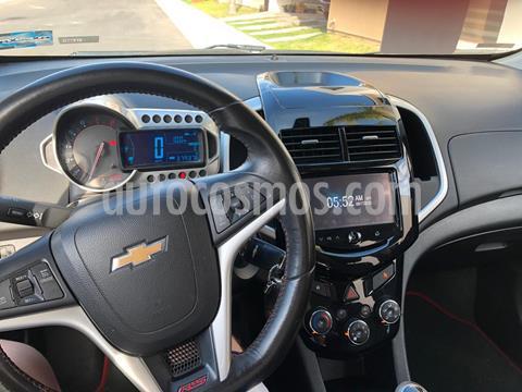 Chevrolet Sonic RS 1.4L usado (2015) color Rojo precio $145,000