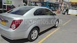 Foto venta Carro Usado Chevrolet Sonic 1.6 LT Aut (2015) color Plata