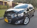 Foto venta Carro Usado Chevrolet Sonic 1.6 LT Aut (2015) color Negro precio $33.900.000