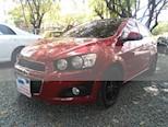Foto venta Carro usado Chevrolet Sonic 1.6 LT (2014) color Rojo precio $29.000.000