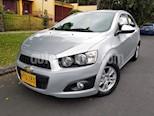 Foto venta Carro Usado Chevrolet Sonic 1.6 LT (2014) color Plata precio $32.500.000