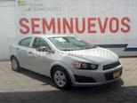 Foto venta Auto usado Chevrolet Sonic 4p LS L4/1.6 Man (2015) color Plata precio $135,000