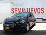 Foto venta Auto usado Chevrolet Sonic 4p LT L4/1.6 Aut (2014) color Azul Marino precio $139,000