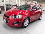 Foto venta Auto usado Chevrolet Sonic 4p LT L4/1.6 Aut (2014) color Rojo precio $129,900