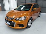 Foto venta Auto usado Chevrolet Sonic 4p LT L4/1.6 Aut (2017) color Naranja precio $215,000