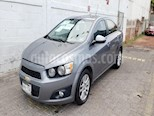 Foto venta Auto usado Chevrolet Sonic 4p LTZ L4/1.6 Aut Q/C (2012) color Gris precio $130,000