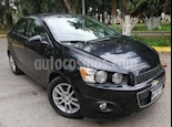 Foto venta Auto usado Chevrolet Sonic 4p LTZ L4/1.6 Aut (2013) color Negro precio $129,000