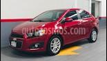 Foto venta Auto usado Chevrolet Sonic 4p LTZ L4/1.6 Aut (2013) color Rojo precio $135,000