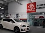 Foto venta Auto usado Chevrolet Sonic 5p RS L4/1.4/T Man color Blanco precio $182,000