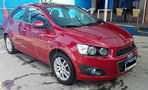 Chevrolet Sonic  LTZ usado (2017) color Rojo precio $1.100.000