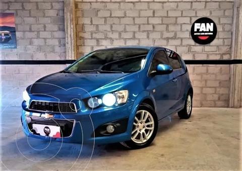 Chevrolet Sonic  4P 1.6 LTZ MT usado (2013) color Azul precio $950.000