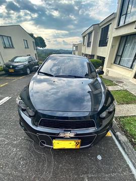 Chevrolet Sonic 1.6 LT usado (2014) color Negro precio $30.000.000