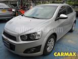 Chevrolet Sonic 1.6 LT usado (2014) color Plata precio $29.900.000