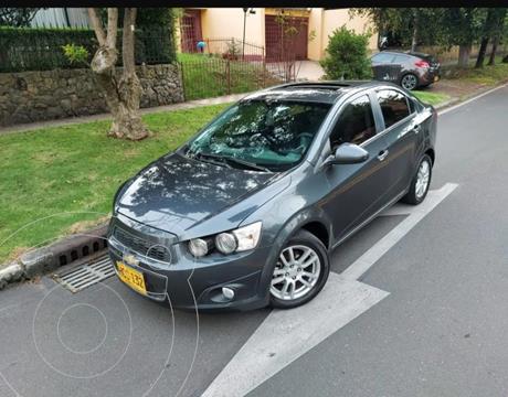 Chevrolet Sonic 1.6 LT Aut usado (2013) color Gris precio $29.900.000