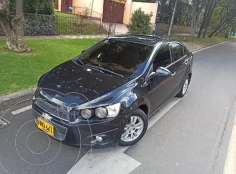 Chevrolet Sonic 1.6 LT usado (2014) color Negro precio $32.900.000