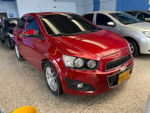 Chevrolet Sonic 1.6 LT Aut usado (2014) color Rojo financiado en cuotas(anticipo $4.000.000 cuotas desde $605.000)