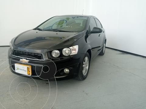 Chevrolet Sonic 1.6 LT usado (2014) color Negro precio $28.990.000