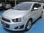 Chevrolet Sonic 1.6 LT Aut  usado (2017) color Plata precio $39.900.000