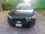 Foto venta Auto usado Chevrolet Sonic LT Aut color Negro precio $147,000