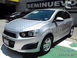 Foto venta Auto usado Chevrolet Sonic LT Aut (2016) color Plata Brillante precio $175,000