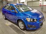 Foto venta Auto usado Chevrolet Sonic LT Aut (2012) color Azul Electrico precio $95,000