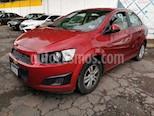 Foto venta Auto usado Chevrolet Sonic LT Aut (2016) color Rojo Tinto precio $160,000