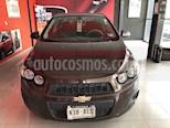 Foto venta Auto usado Chevrolet Sonic LT Aut (2016) color Vino Tinto precio $155,000