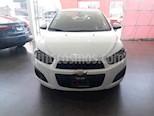 Foto venta Auto usado Chevrolet Sonic LT (2016) color Blanco precio $139,000