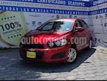 Foto venta Auto usado Chevrolet Sonic LT (2016) color Rojo Tinto precio $169,000