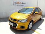 Foto venta Auto usado Chevrolet Sonic LT (2017) color Amarillo precio $189,000