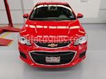 Foto venta Auto usado Chevrolet Sonic LT (2017) color Rojo Tinto precio $179,000