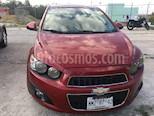 Foto venta Auto usado Chevrolet Sonic LTZ Aut (2013) color Rojo Tinto precio $105,000