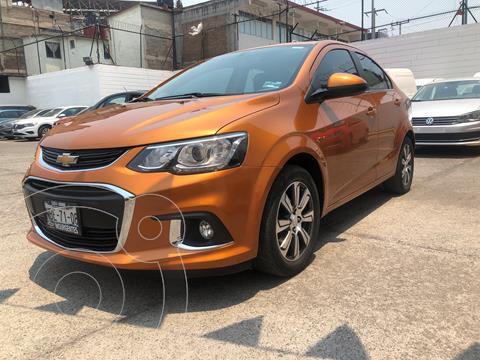 Chevrolet Sonic LTZ Aut usado (2017) color Naranja financiado en mensualidades(enganche $46,250 mensualidades desde $4,870)