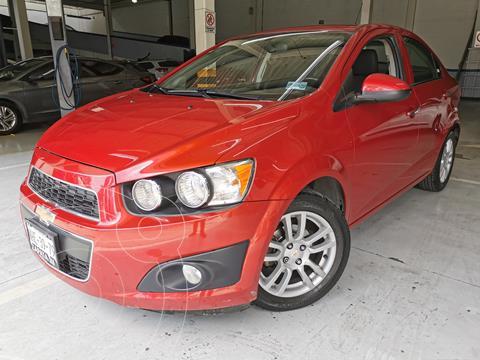 Chevrolet Sonic LTZ Aut usado (2012) color Rojo Tinto precio $115,000