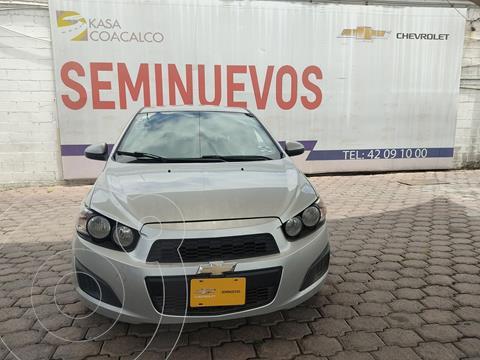 Chevrolet Sonic LS usado (2015) color Plata Dorado precio $120,000