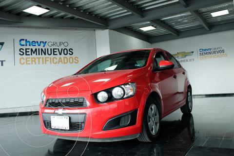 Chevrolet Sonic LS usado (2016) color Rojo precio $160,000