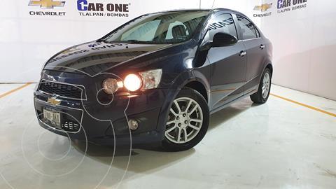 Chevrolet Sonic LTZ Aut usado (2015) color Negro Carbon precio $150,000