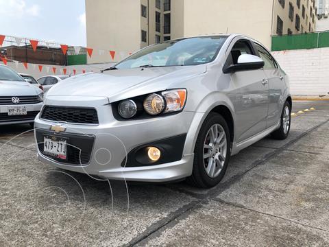 Chevrolet Sonic LTZ Aut usado (2014) color Plata Brillante financiado en mensualidades(enganche $39,000 mensualidades desde $3,961)