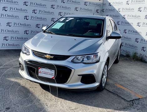 Chevrolet Sonic LS usado (2017) color Gris precio $178,000