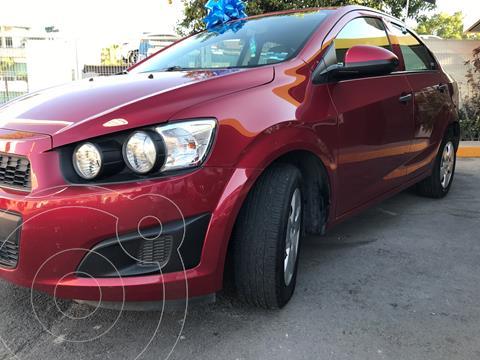 Chevrolet Sonic LS usado (2016) color Rojo Tinto precio $150,000