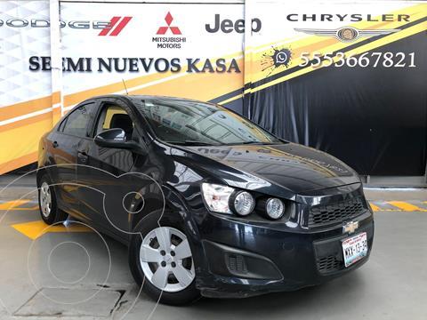 Chevrolet Sonic LS usado (2016) color Granito precio $139,000